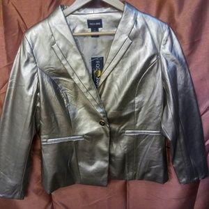 New Gold Metallic Blazer